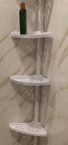 How to clean plastic shower caddy