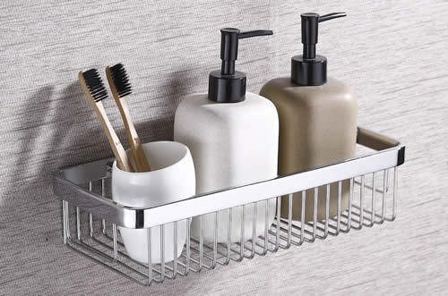 Will stainless steel shower caddy rust
