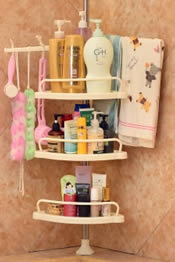 best plastic shower caddy review